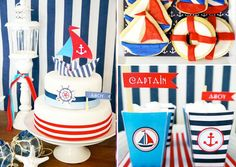 Patriotic nautical party