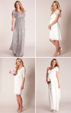 Gorgeous Maternity Wedding Dresses from Seraphine