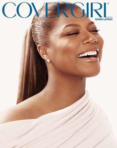 Queen Latifah Covergirl Ad