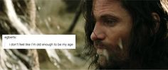 Lord of the rings + text posts Tolkien Hobbit, The Hobbit, Aragorn, Legolas, Middle Earth Books, Rings Tumblr, Text Posts Tumblr, Misty Eyes, Funny Facts