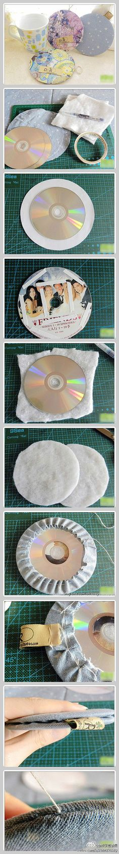 DIY *-*【Crafty Coasters】
