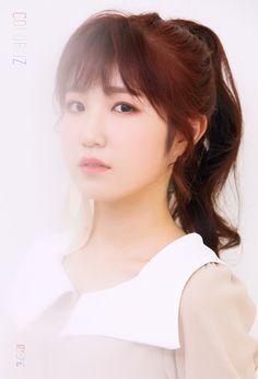 First Mini Album [ ] ♡ Kpop Girl Groups, Kpop Girls, Mini Albums, Yuri, Eyes On Me, Japanese Girl Group, Kim Min, Female Singers, Debut Album