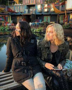 The 100 Cast, The 100 Show, It Cast, Clarke The 100, Lexa E Clarke, Goodbye For Now, Eliza Taylor, Alycia Debnam Carey, Clexa