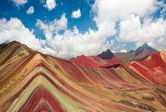 The rainbow mountain or 7 color mountain from cusco Peru in 1 day  |  Southamericaplanet