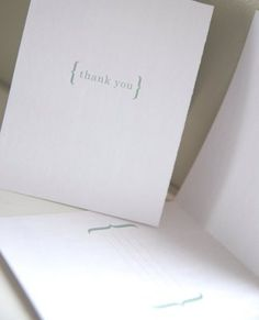Printable Thank You cards. Love the clean and simple design!