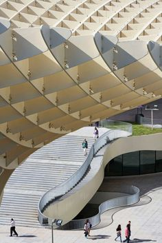 Urlaub Südspanien sevilla Metropol Parasol Plaza Encarnación J. Mayer H. Architects