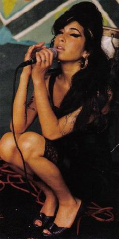 Amy Winehouse - A beauty and talent gone far too soon and a woman who herself was out of time (both figuratively and literally). I hope she has found peace at last.