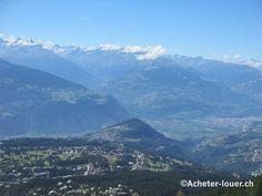Vue sur le Weisshorn #suisse #weisshorn #paysage #montagne