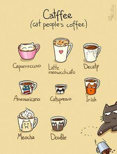 Catffee Cat people's coffee