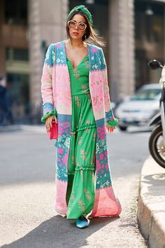 Come fashion week in the Italian city, those on the street style circuit like to show off their finest and most eye-catching attire.