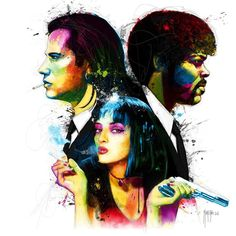 Pulp Fiction by Patrice Murciano