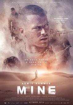 #Mine poster  starring #ArmieHammer
