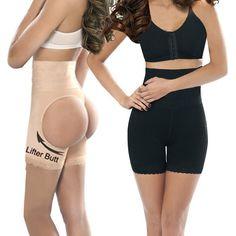 898ec5da92863 Sexy High Waist women butt lift shaper Steel bone butt lifter body shaper  butt enhancer panty