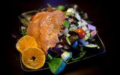 Avocado Salmon Breakfast Salad - Paleo Porn: Steamy Paleo Recipes