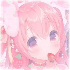 Aesthetic Themes, Aesthetic Images, Pink Aesthetic, Aesthetic Anime, Loli Kawaii, Kawaii Art, Kawaii Anime, Anime Chibi, Anime Art