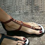 Rabens Saloner A Ring Sandals : Huset Shop