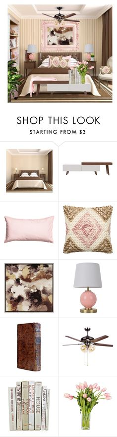 """Untitled #9724"" by queenrachietemplateaddict ❤ liked on Polyvore featuring interior, interiors, interior design, home, home decor, interior decorating, Moe's Home Collection, H&M, Loloi Rugs and Pillowfort"