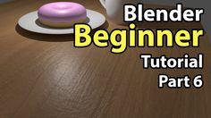 Blender Beginner Tutorial - Part 6: Texturing