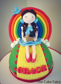 Wizard of Oz/ Rainbow Cake