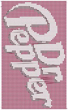 Coke, Pepsi, Plastic Canvas Crafts, Plastic Canvas Patterns, Counted Cross Stitch Patterns, Cross Stitch Designs, Loom Beading, Beading Patterns, Thread Bracelets
