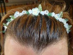 Czech Glass Flower Headband