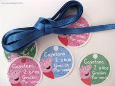"""Etiquetas """"gracias por venir"""" de Peppa Pig Peppa Pig, Party, Deco, Google, Fiestas, Thanks For Coming, Tags, Parties, Decor"""