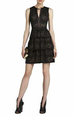 BCBG Scarlett Tiered Dress. Wish I had somewhere to wear this!