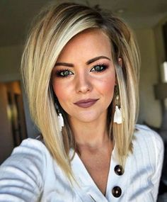 Hairstyles Recogido The Chicest Layered Haircuts For Any Hair Type.Hairstyles Recogido The Chicest Layered Haircuts For Any Hair Type Cute Medium Length Hairstyles, Short Layered Haircuts, Long Bob Hairstyles, Trending Hairstyles, Popular Hairstyles, Hairstyles 2018, Casual Hairstyles, Bob Haircuts, Celebrity Hairstyles