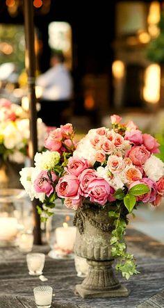 floral urn....