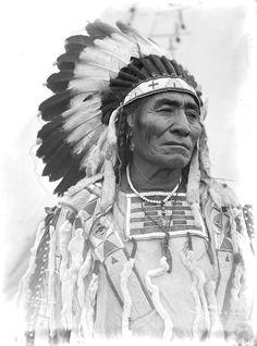 A Crow man. 1905. Photo by Richard Throssel.