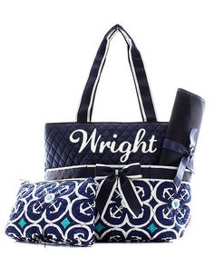 Personalized anchor diaper bag 3pc monogrammed diaper bag diaper personalized anchor diaper bag 3pc monogrammed diaper bag diaper bag baby shower gift by awesomepersonalgifts on etsy monogram diaper bag pinterest negle Image collections