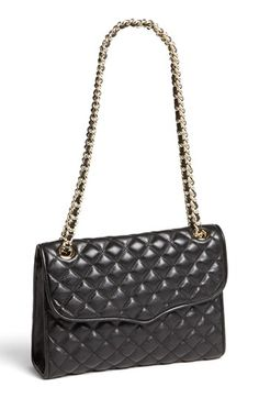 Rebecca Minkoff 'Quilted Affair' Shoulder Bag available at #Nordstrom $295, an alternative for a Chanel style hand bag