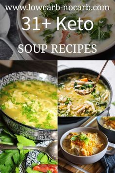 33 Keto Soup Recipes to warm you up throughout the whole winter. Make them all one by one and you will enjoy our Low Carb lifestyle fully.