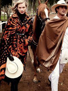 Karlie Kloss by Mario Testino for Vogue US September 2014