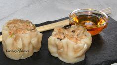 Dim Sum (aperitivos chinos)  Siao Mai, receta paso a paso