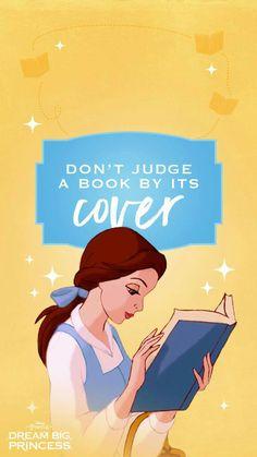 """""""Não julgue um livro por sua capa"""""""