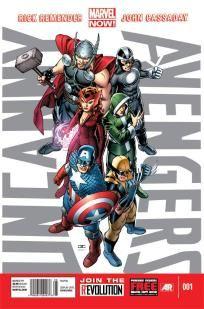 Uncanny Avengers #1 Rick Remender John Cassaday ---> shipping is $0.01 !!!