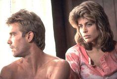 Linda Hamilton and Michael Biehn in The Terminator
