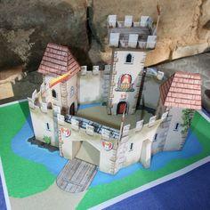 Une Chasse au Trésor - Château 3 D à fabriquer