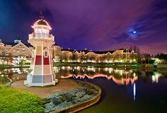Remind you of Yacht & Beach Club? It's actually a hotel at Disneyland Paris! http://www.disneytouristblog.com/disneyland-paris-trip-planning/