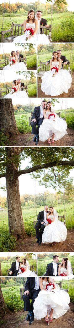 Leeanne & Joe embrace their inner child in September 2011
