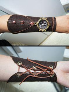 Steampunk Arm Brace by stargate4ever23.deviantart.com on @DeviantArt
