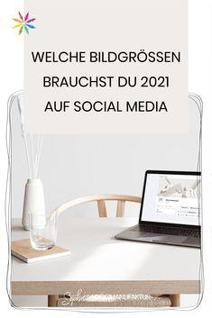 Welche Bildgrößen brauchst du 2021 für deine Grafiken auf Facebook, Instagram und Pinterest. Hol dir jetzt die Auflistung der optimalen Pixelmaße für Social Media Logo Design, Besties, Social Media, Blog, Instagram, Home Decor, Facebook Profile Picture, Graphics