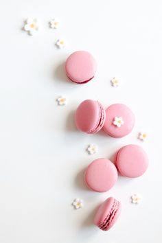 Macaron Wallpaper, Cake Wallpaper, Macarons Rose, Pink Macaroons, Cute Images For Dp, Pink Images, Pink Wallpaper Girly, Candy Photography, Blog Patisserie