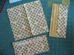 Sew close to the edge of the fabric (less than Sew Wallet, Fabric Wallet, Fabric Bags, Card Wallet, Wallet Sewing Pattern, Easy Sewing Patterns, Sewing Hacks, Sewing Crafts, Sewing Projects