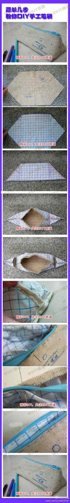 trousse origami - L'Atelier de Jojo