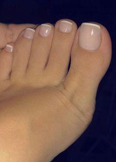 French nails on toes french nails - # french # nails . - French nails on toes French nails – # Nails # Toes You are in the right place - Pretty Toe Nails, Cute Toe Nails, Pretty Toes, My Nails, Gel Toe Nails, Gel Toes, Toe Nail Polish, Acrylic Toe Nails, Beautiful Toes