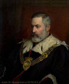 John Patrick Crichton-Stuart, 3rd Marquess of Bute (1847–1900) Cardiff Castle Castell Coch Mount Stuart on the Island of Bute