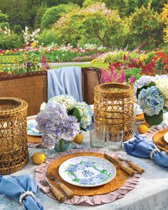 Southern Ladies, Enjoy Summer, Outdoor Furniture Sets, Outdoor Decor, Tablescapes, Floral Arrangements, Table Decorations, Centerpieces, Table Settings