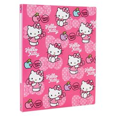 Hello Kitty A4 lever file Sanrio online shop - official mail order site
